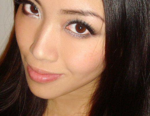 FOTD Orange Graphic Eye Nude Lips Makeup Look Makeup