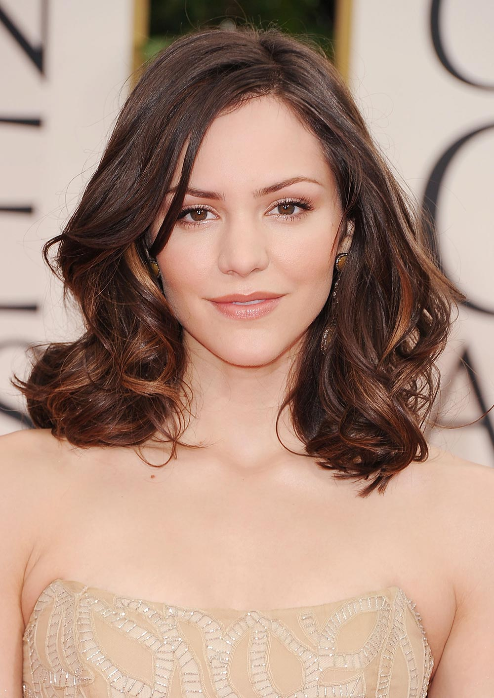 Katharine McPhee's Makeup Look from 2012 Golden Globes