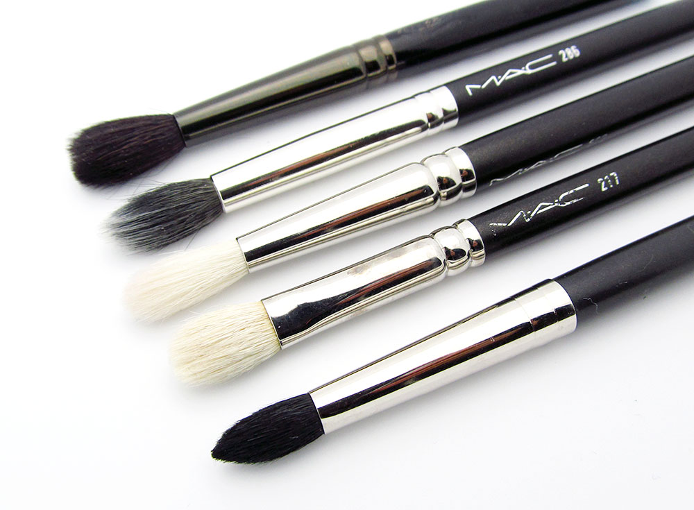 MAC blending brushes comparison