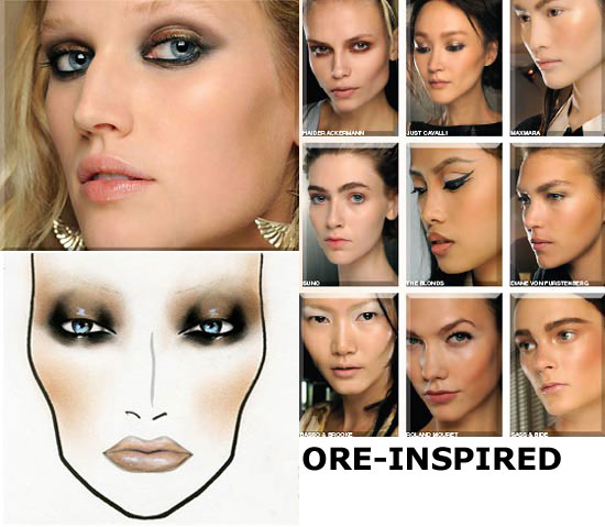MAC Spring/Summer 2012 Ore-inspired Makeup Trend