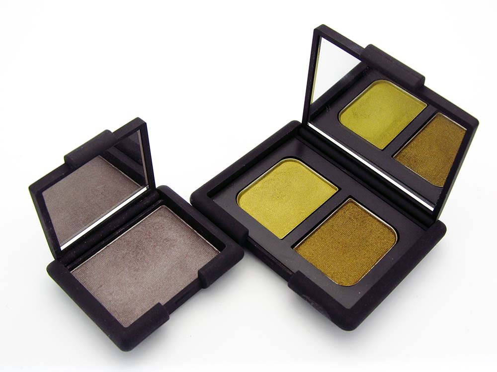 NARS Paramaribo and Lhasa Eyeshadows