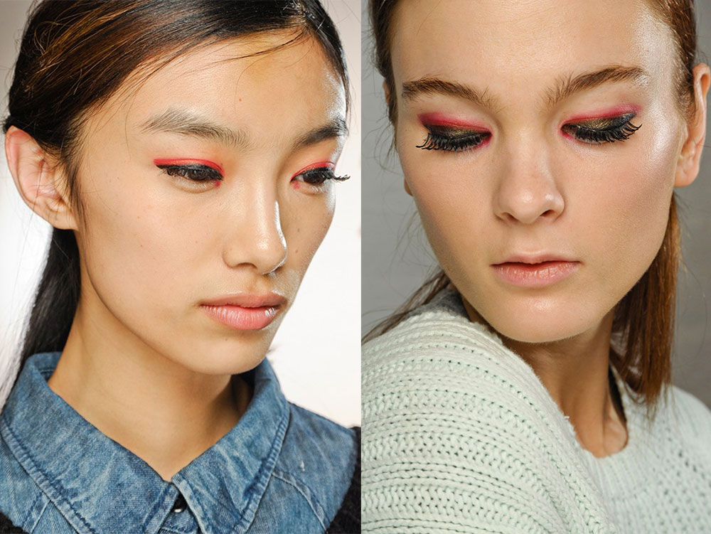 3.1 Phillip Lim Backstage makeup