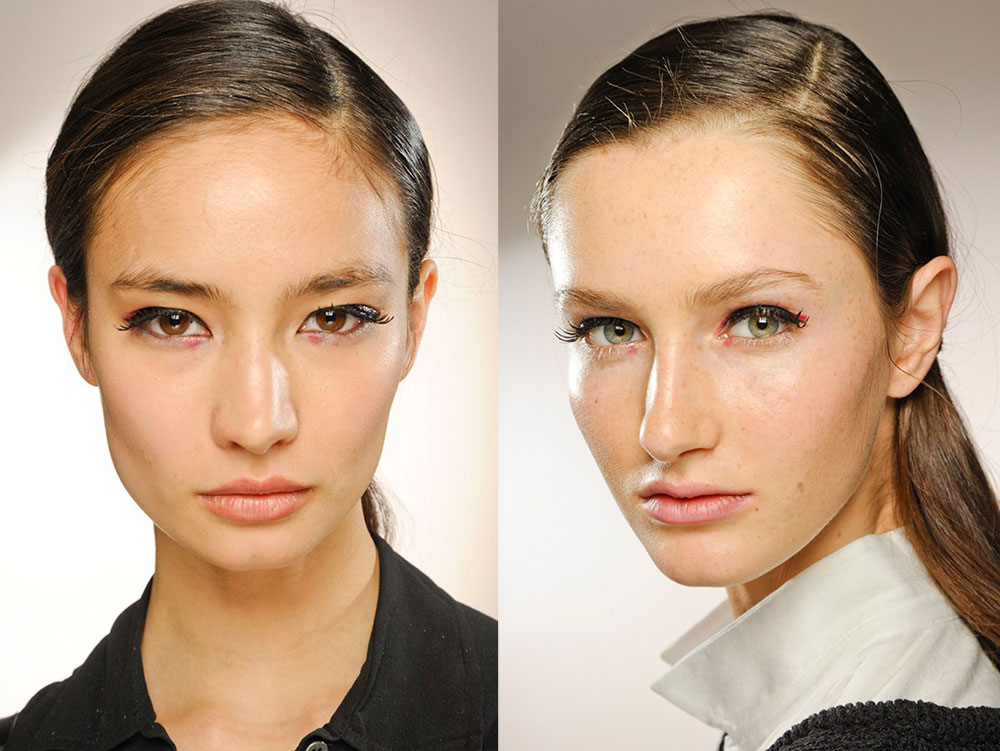 3.1 3.1 Phillip Lim Fall 2012 runway beauty
