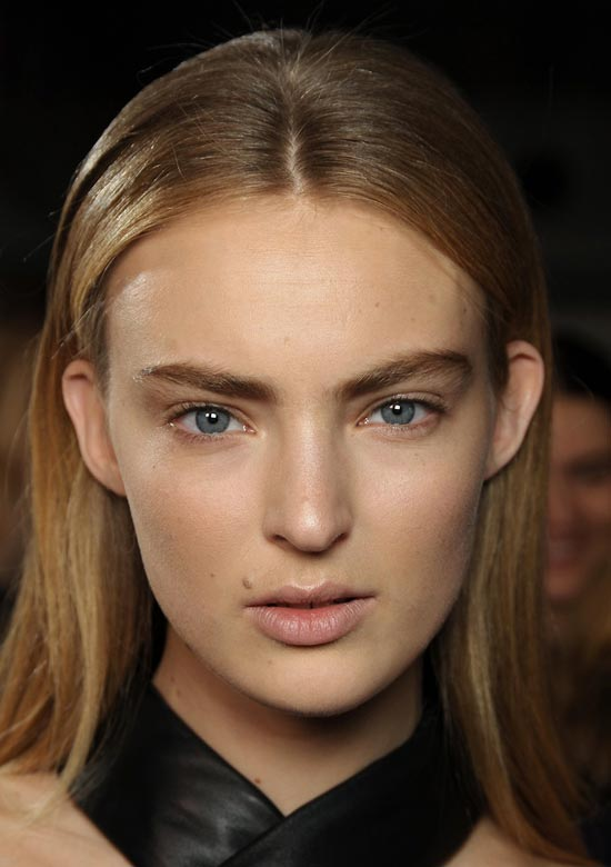 Androgynous beauty at Christopher Kane Fall 2012
