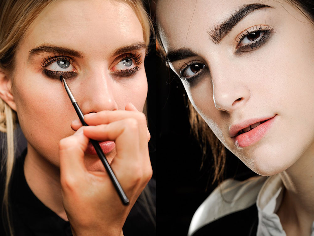 Luminous Skin and Smudgy Eyes at Marc Jacobs Fall 2012