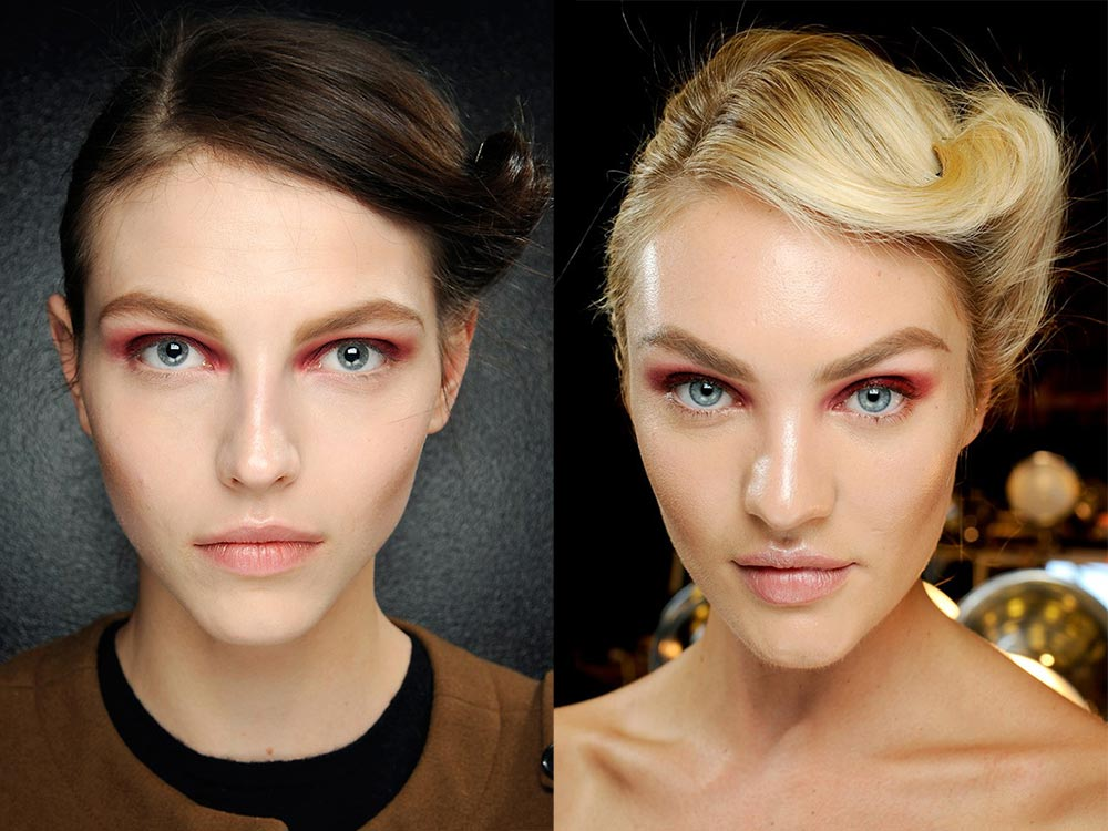 Donna Karan New York Fall 2012 runway beauty