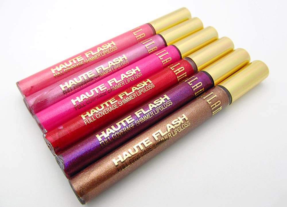 Milani Haute Flash Full Coverage Shimmer Lipgloss reviews