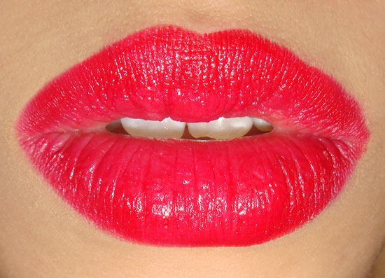 Wearing Dolce & Gabbana Infatuation Passion Duo Gloss Fusion Lipstick