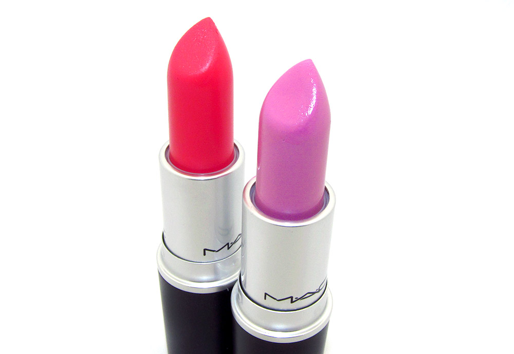 MAC Force of Love and Budding Love Lipsticks