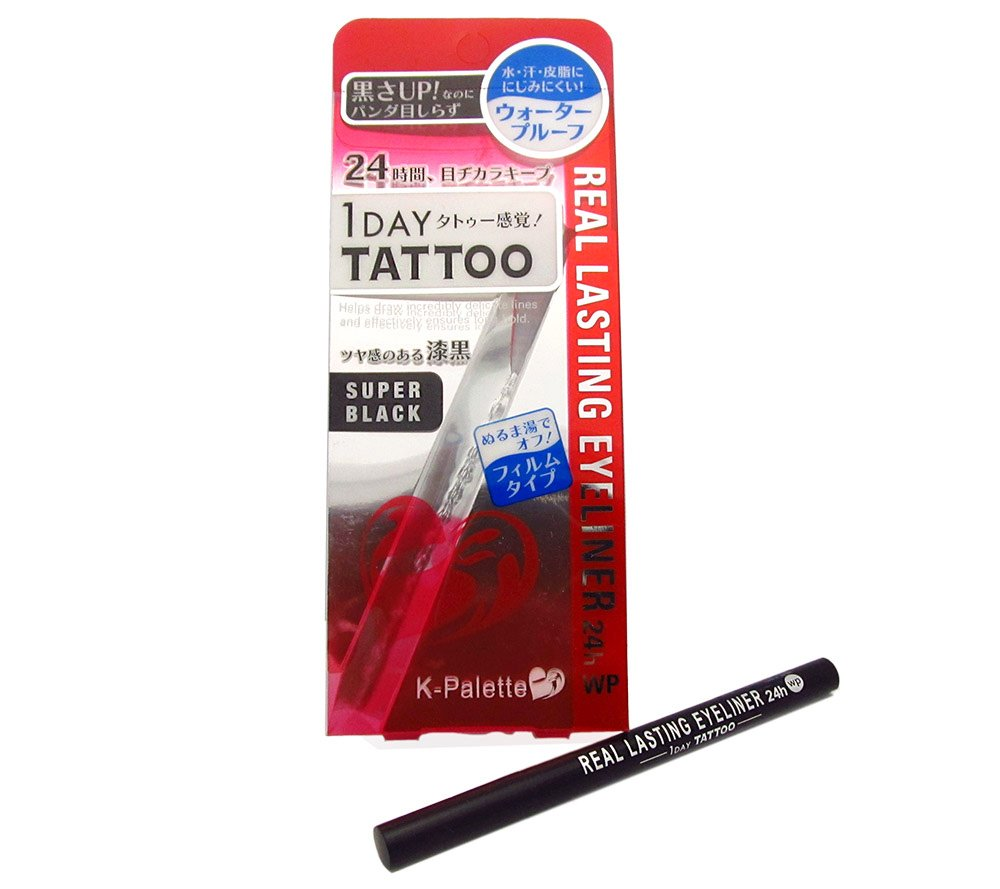 K-Palette 1 Day Tattoo Real Lasting Eyeliner 24H WP