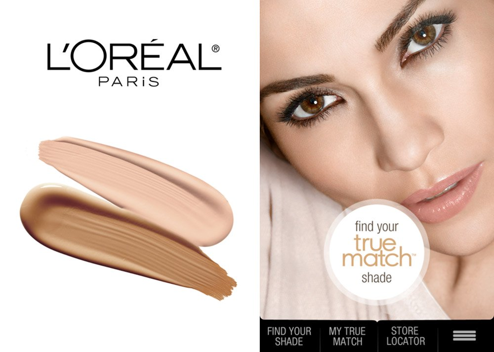 L'Oreal Paris True Match Matchmaker App