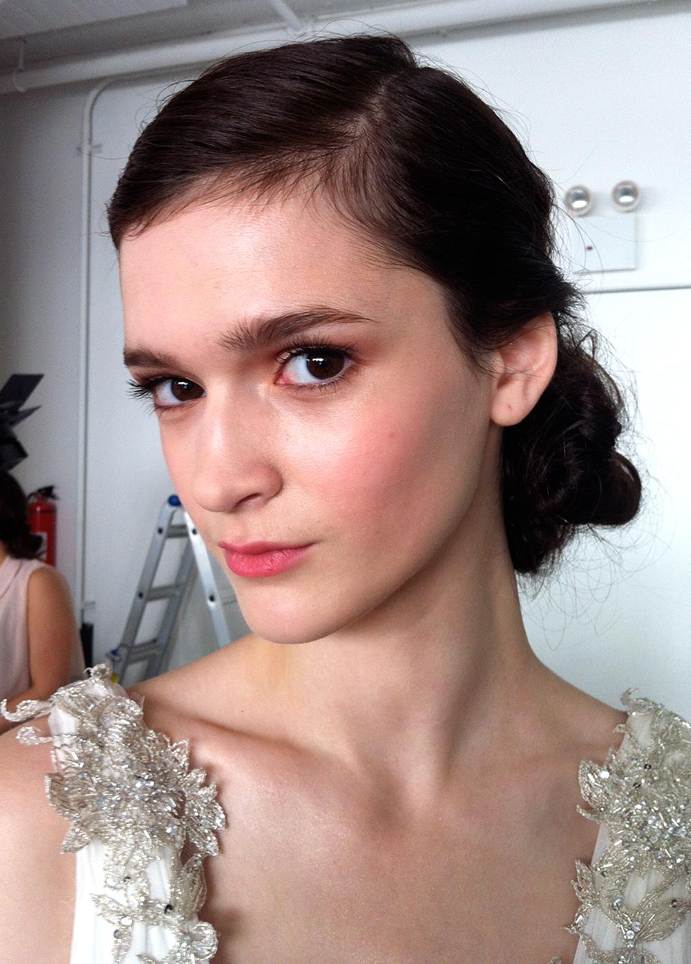 Bridal Beauty at Marchesa Bridal Spring 2013 Runway
