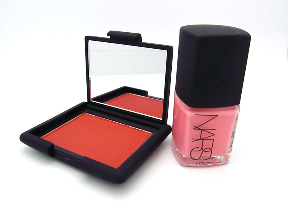 NARS Liberté Blush and Trouville Nail Polish from Summer 2012 collection