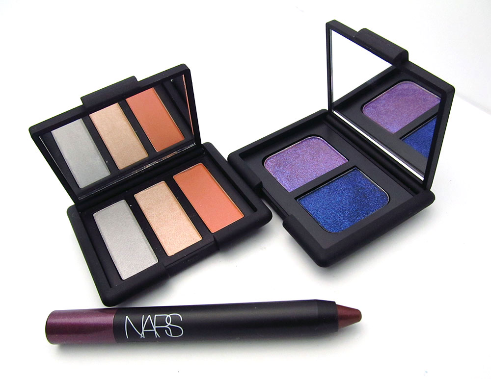 NARS Ramatuelle Trio Eyeshadow, Marie-Galante Duo Eyeshadow and Calabria Soft Touch Shadow Pencil from Summer 2012 collection