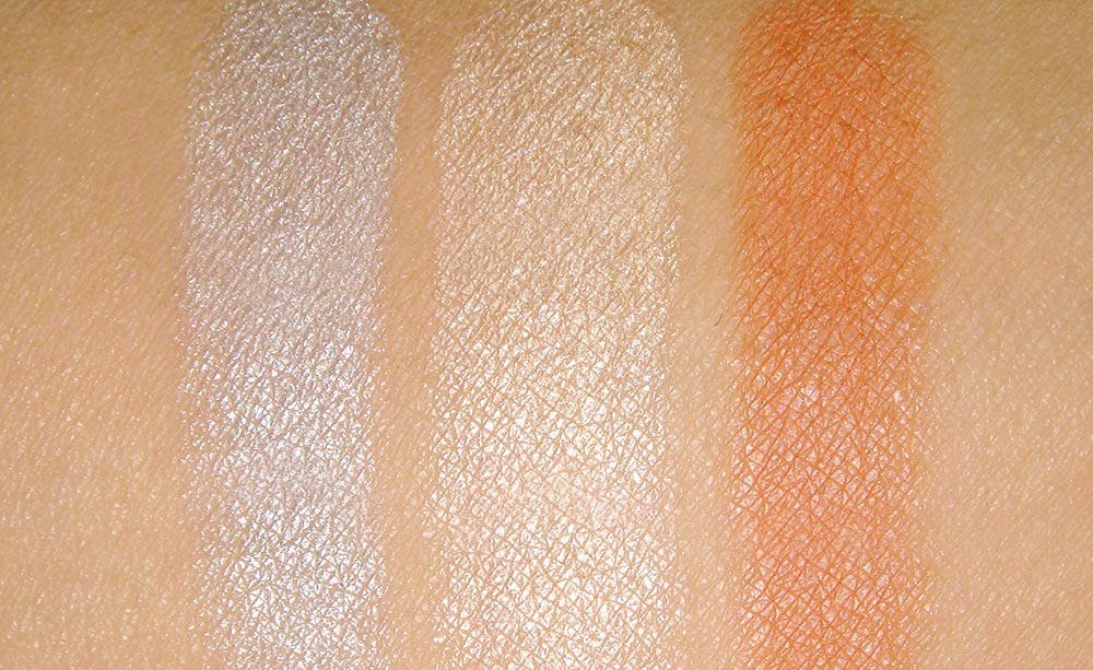 NARS Ramatuelle Trio Eyeshadow swatches