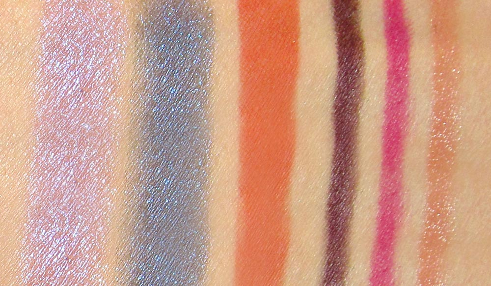 NARS Summer 2012 Collection Swatches