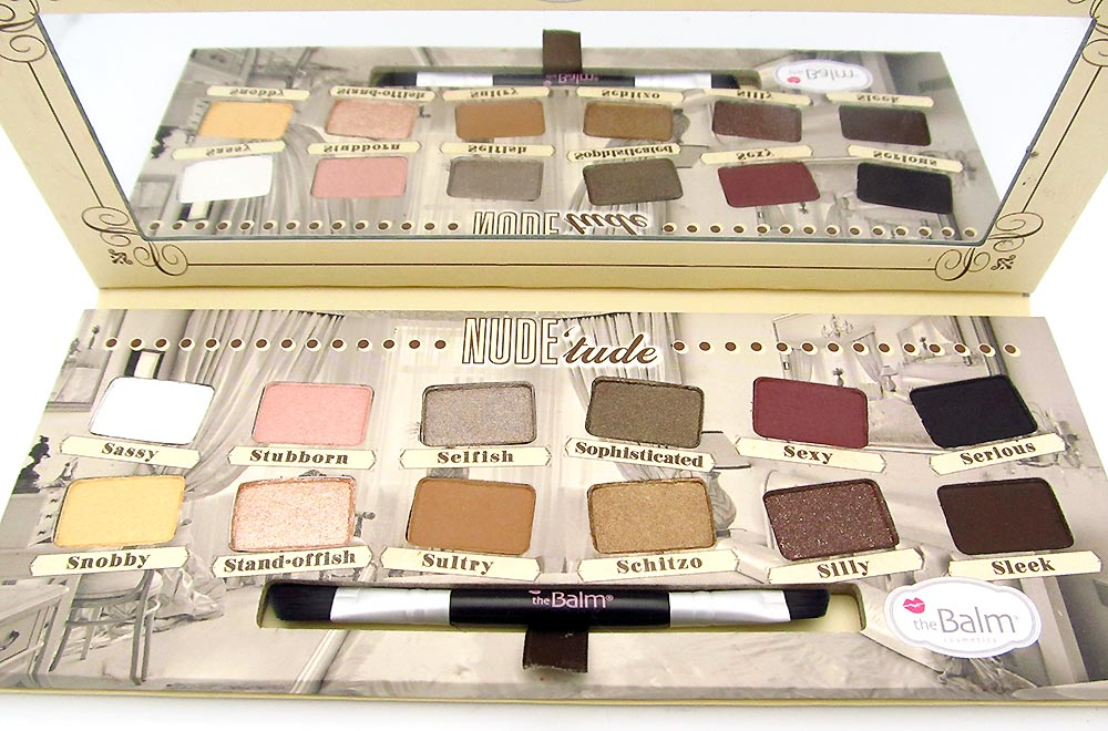 theBalm Nude tude Nude Eyeshadows