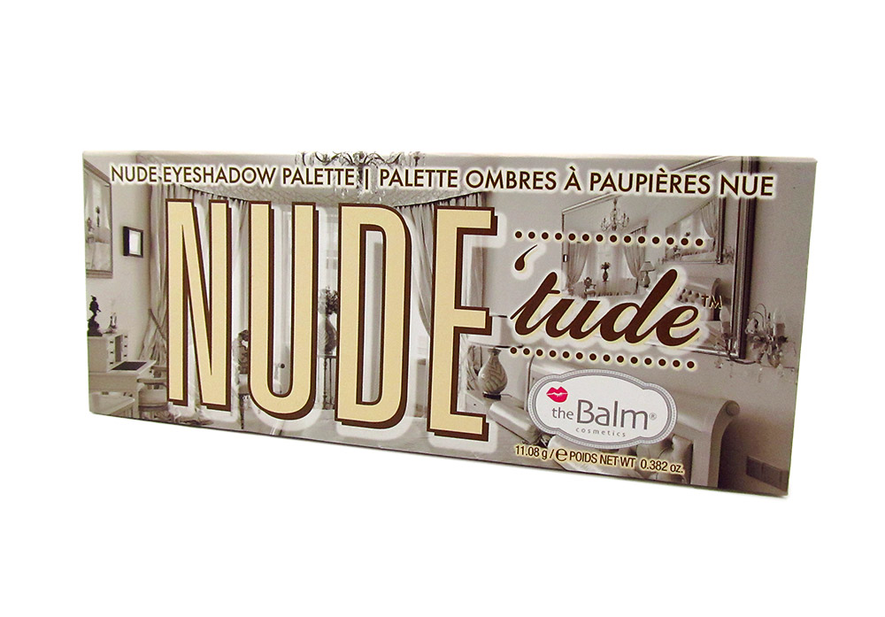 theBalm Nude 'tude Nude Eyeshadow Palette Review
