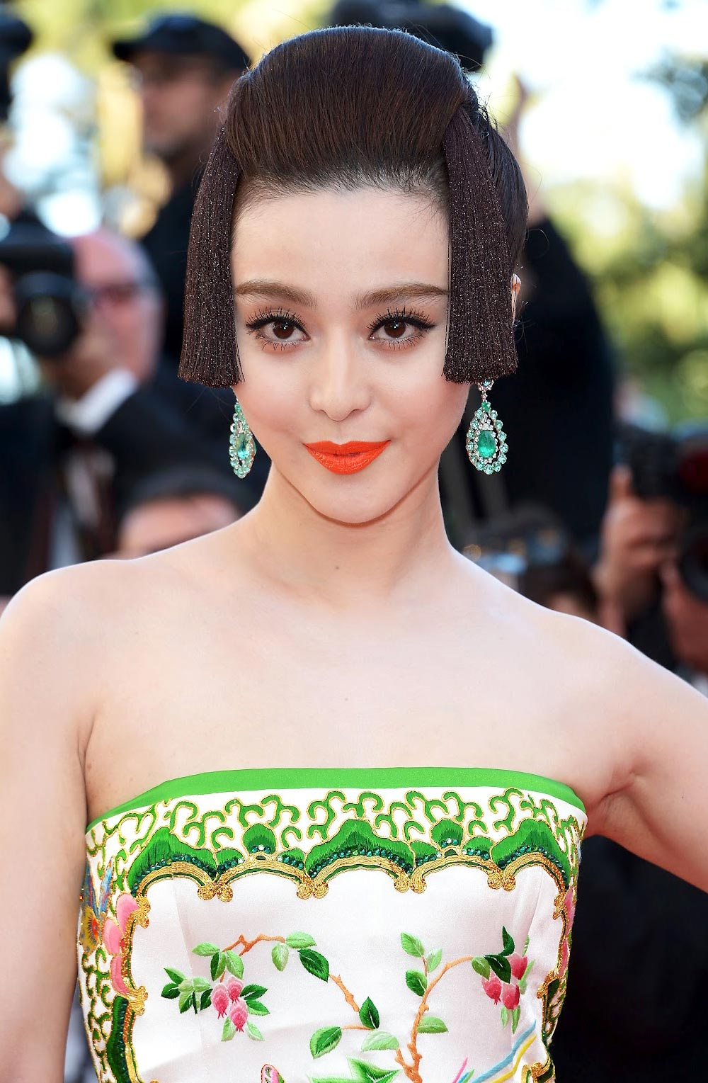 Fan Bing Bing's makeup at 2012 Cannes Film Festival