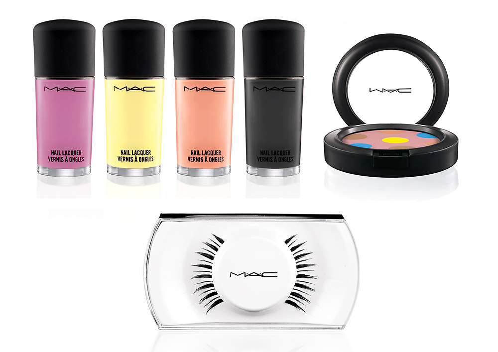 MAC Beth Ditto Powder To The People and Nail Lacquers