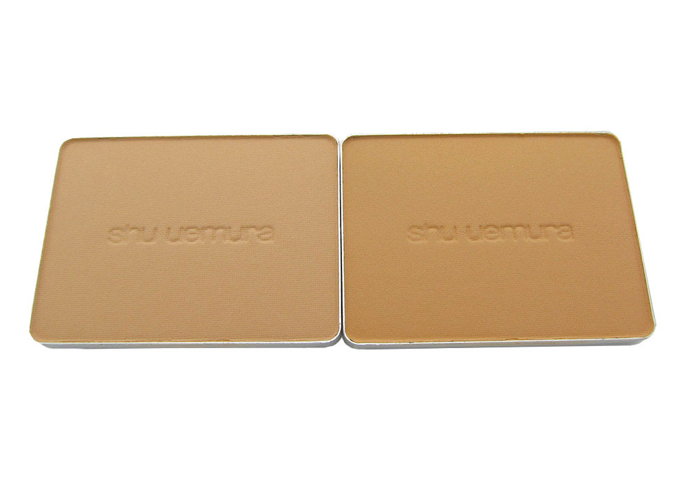 Shu Uemura Face Architect Glow Enhancing Powder Foundation in Medium Light 564 and Medium Light Beige 764