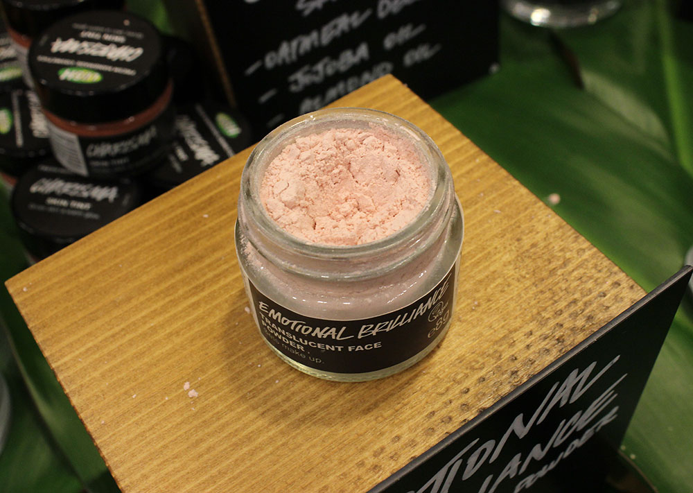 Lush Emotional Brilliance Translucent Powder