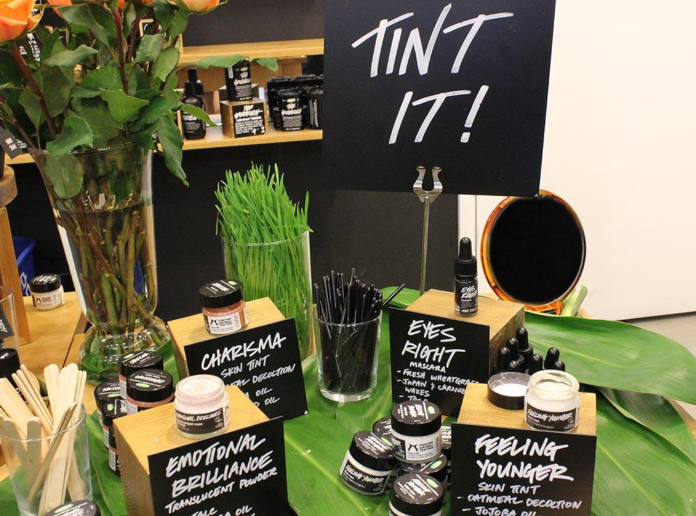 Lush Cosmetics Emotional Brilliance Tint It Collection