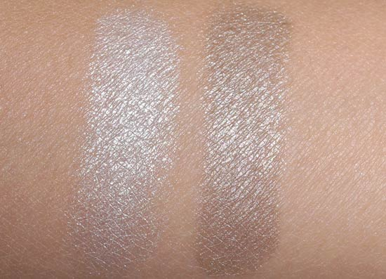 NARS Vent Glacé Duo eyeshadow swatches