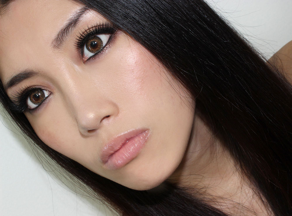 Smoky Eye & Nude Lip Makeup Tutorial