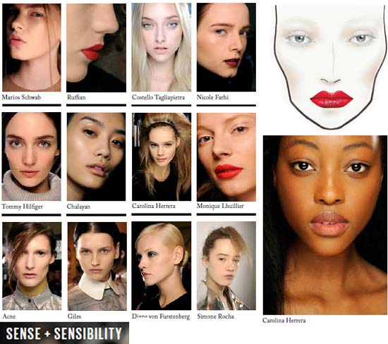MAC Autumn/Winter 2012 Sense + Sensability Trend and Makeup Looks