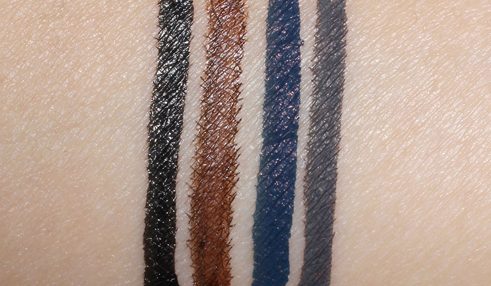 NARS Eyeliner Stylo Fall 2012 swatches