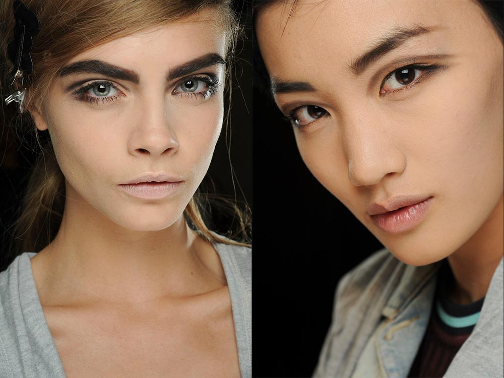 60's makeup look at Marc Jacobs Spring/Summer 2013 runway