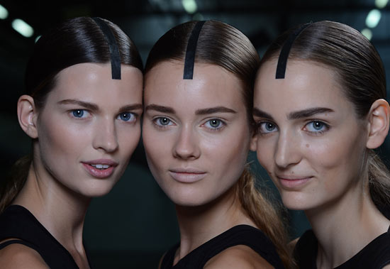 Alexander Wang Spring/Summer 2013 Runway Beauty