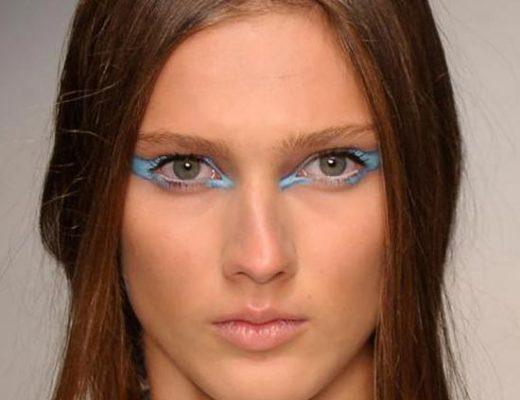 Runway Beauty: Feline Eyes at Jean Paul Gaultier Fall 2013 ...