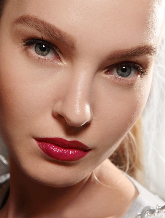 Gold Eye + Red Lips at Jason Wu Spring/Summer 2013