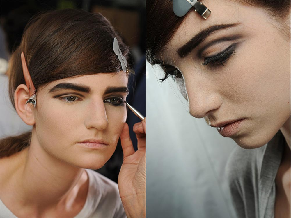 Marc Jacobs Spring/Summer 2013 backstage makeup