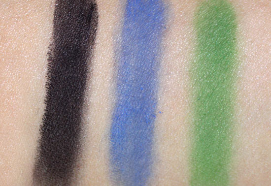 NARS Andy Warhol Self Portrait 1 Eyeshadow Palette swatches
