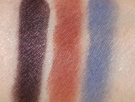 NARS Andy Warhol Self Portrait 3 Eyeshadow Palette swatches