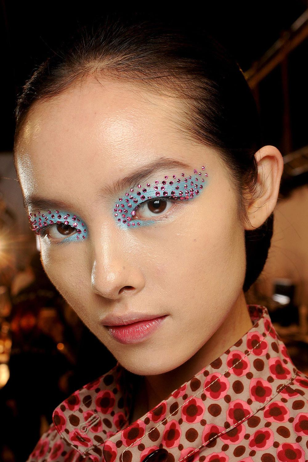Blinged Up Eyes at Christian Dior Spring/Summer 2013