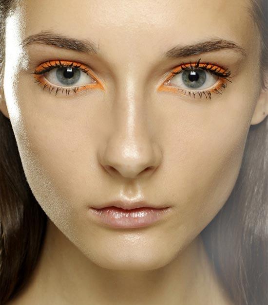 Kenzo Spring/Summer 2013 runway makeup
