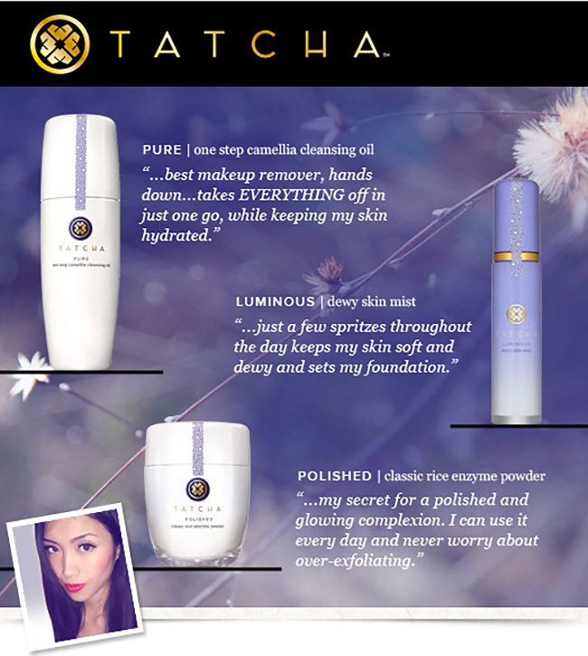 TATCHA x Phyllis Li Limited Edition 3-Piece Set