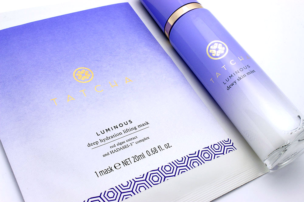 TATCHA Water Collection skincare reviews