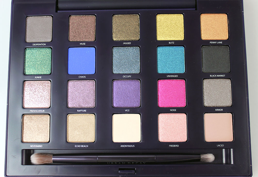 Urban Decay The Vice Palette eyeshadows