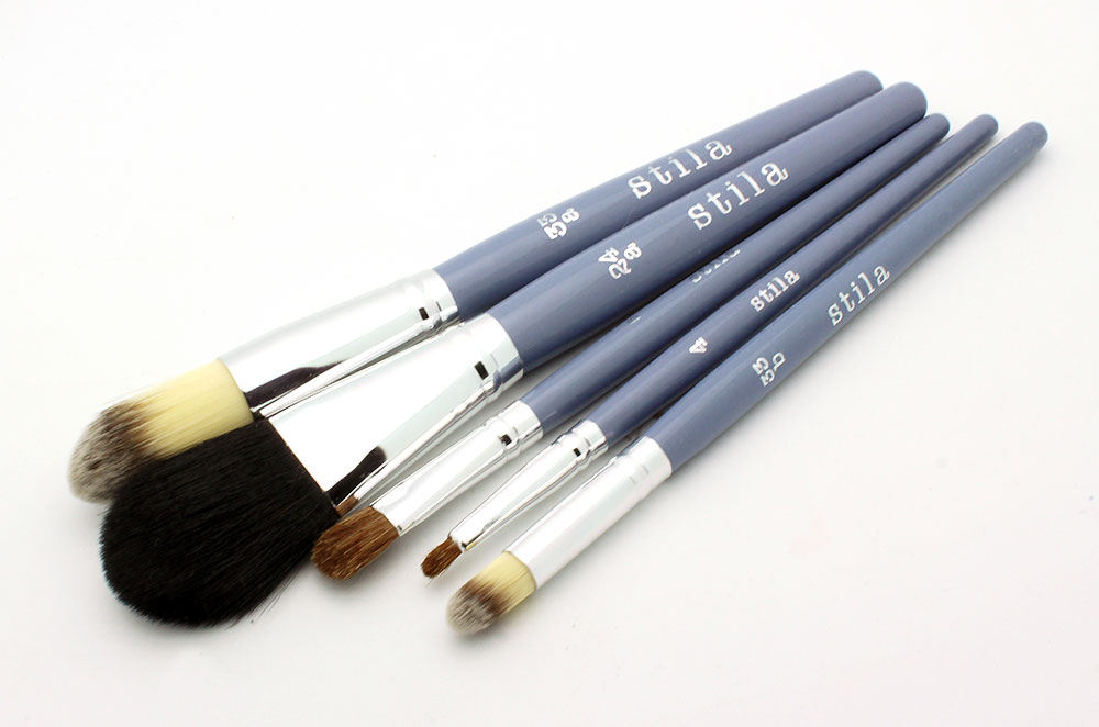 Stila Holiday 2012 Brush Set review