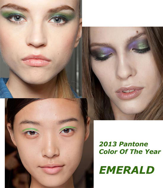 How to wear Emerald, Pantone 2013 Color Of The Year