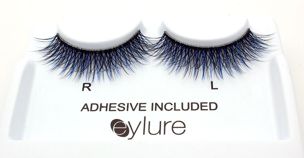 Katy Perry Eylure Ka-Boom Color Pop Lashes closeup