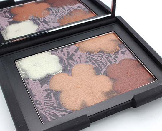Andy Warhol for NARS Flowers Eyeshadow 3 Palette closeup