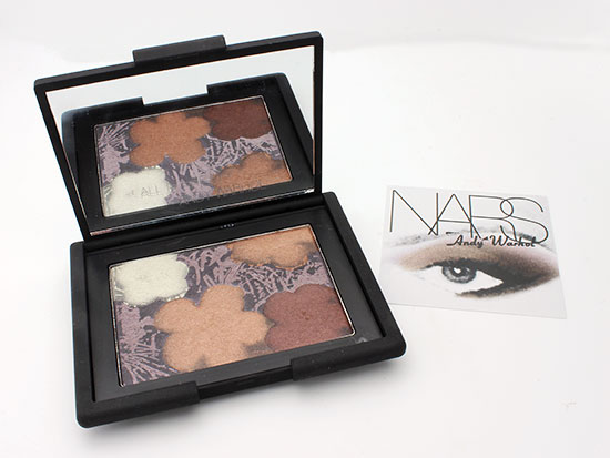 NARS x Andy Warhol Flowers 3 Eyeshadow Palette review