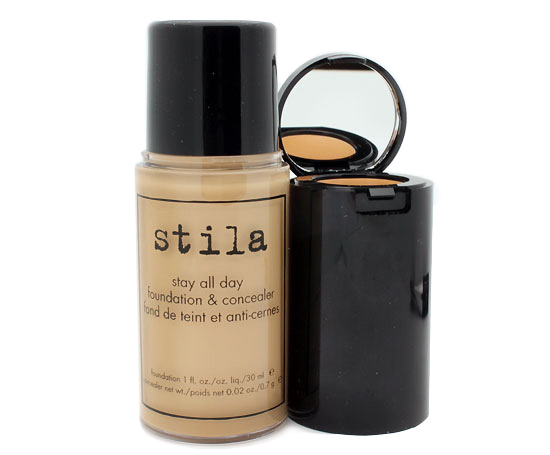 Stila Stay All Day Foundation and Concealer in Hue review