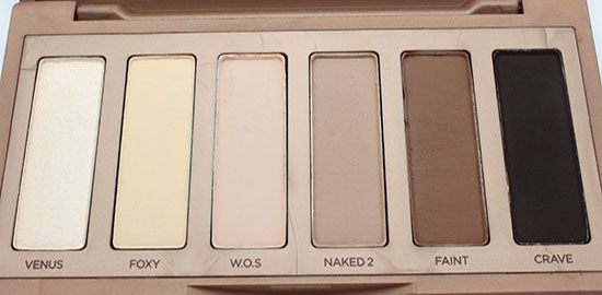 Urban Decay Naked Basics Eyeshadows